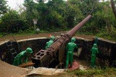 Остров Cat Ba. Cannon Fort