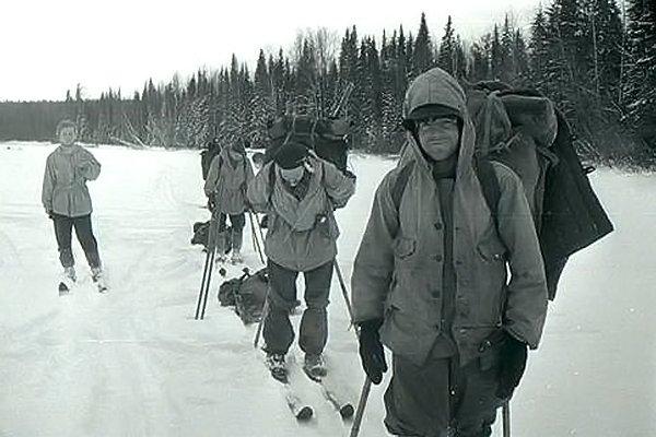Группа Дятлова в пути