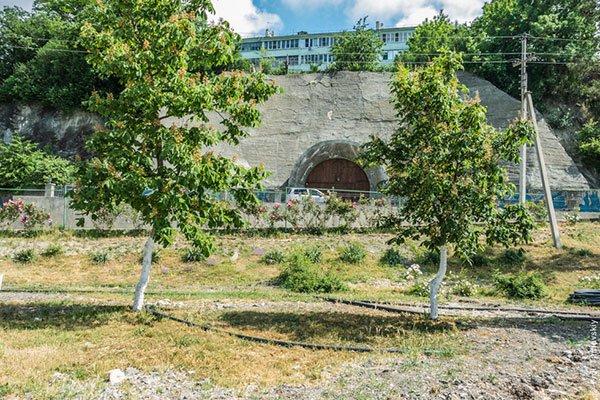 Винный подвал в Абрау-Дюрсо