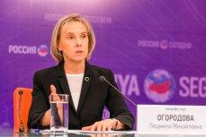 Пресс-конференция, посвященная запуску Московского международного рейтинга вузов, Москва, 3 ноября 2016.