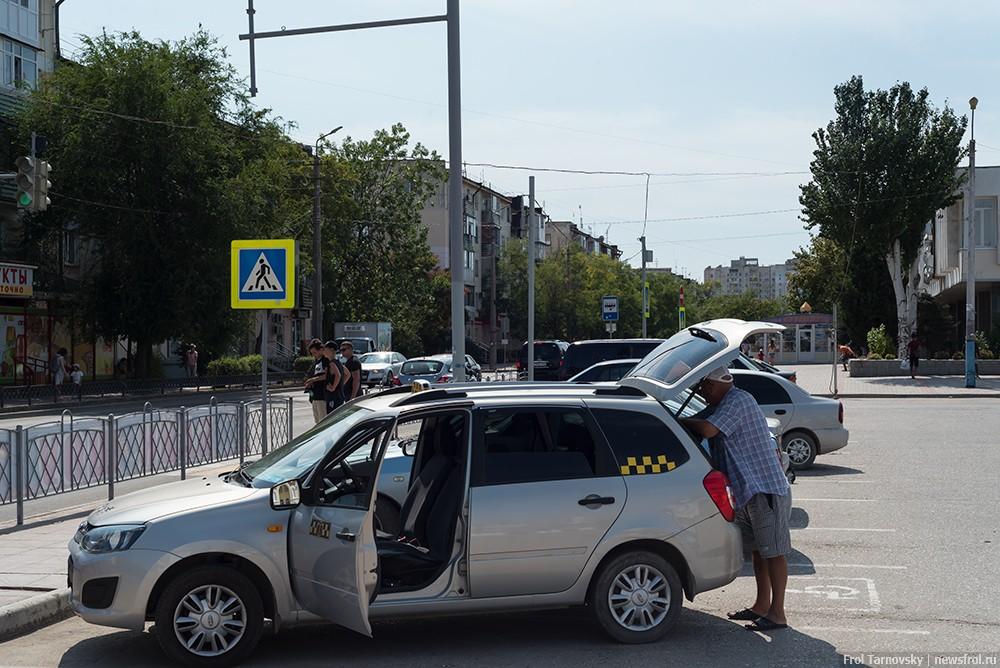 Таксист на ЖД вокзале в Евпатории
