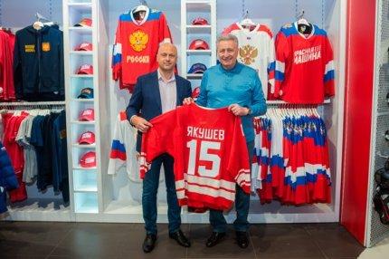 Хоккеист Александр Якушев