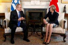Тереза Мэй и Беньямин Нетаньяху на встрече в Лондоне.