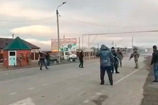 Взрыв смертницы в Грозном