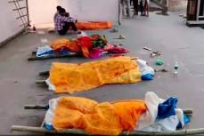В Индии скончавшиеся от коронавируса лежат прямо на улицах
