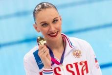 Российская синхронистка Наталья Ищенко.