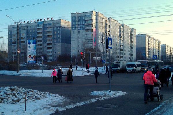 Необыкновенные перекрёстки Барнаула.
