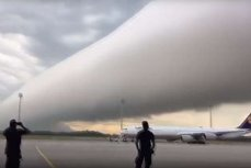 цилиндр из облаков.
