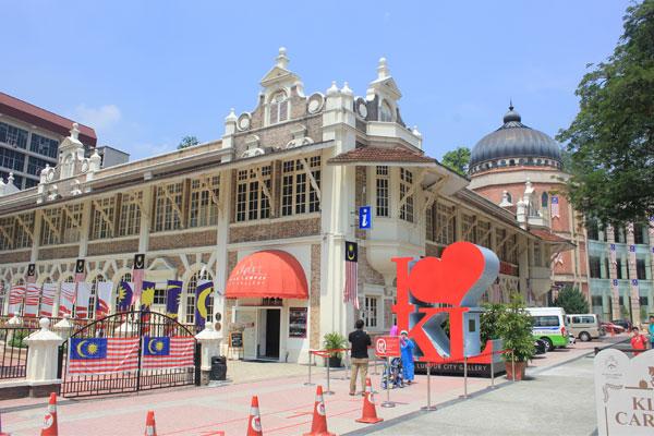Городская галерея в Куала-Лумпуре. Малайзия.