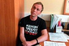 Иван Голунов во время задержания