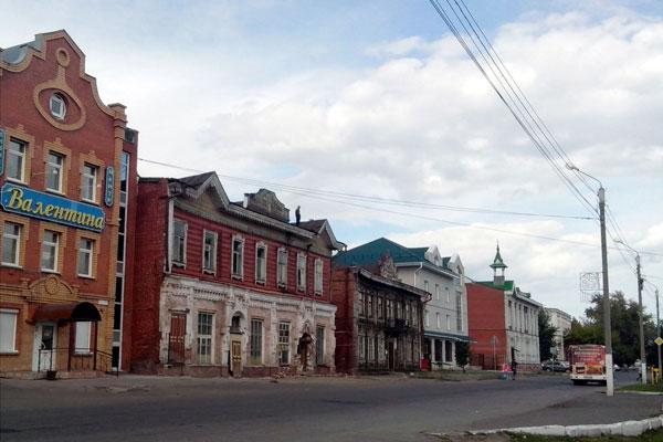 Старые улицы Барнаула.