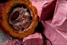 Розовый шоколад.
