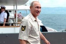 Президент России Владимир Путин в Севастополе.