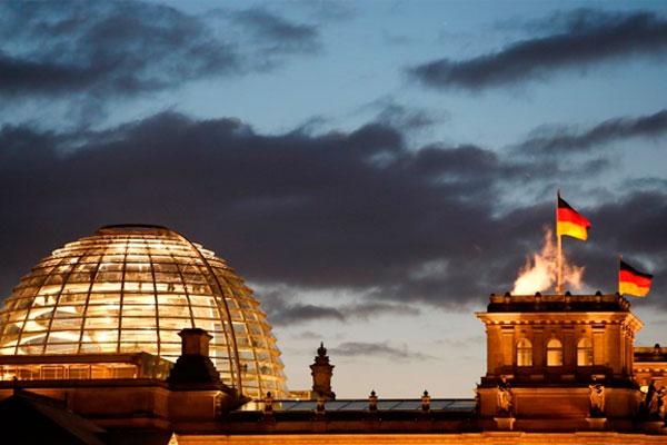 Купол здания Рейхстага.