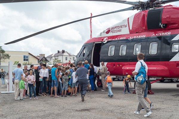 Средний многоцелевой вертолёт Ми-38 открыт для посетителей
