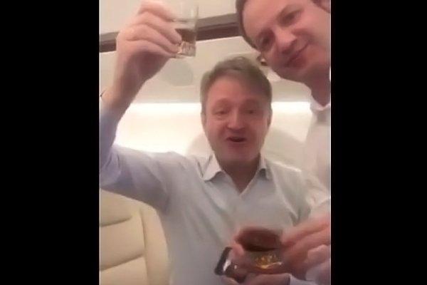 Гулянка в самолёте