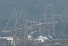 Взрыв моста в Генуи