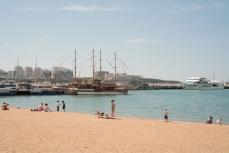 Центральный пляж Геленджика.