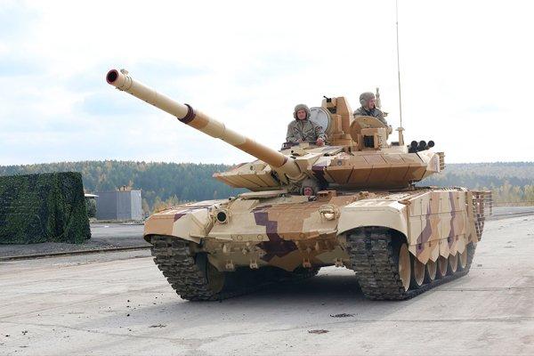 Т-90СМ на выставке RAE-2013