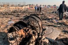 Сбитый Ираном украинский авиалайнер