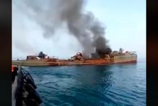 Иран по ошибке обстрелял и потопил свой корабль