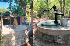 В Геленджике восстанавливают старые колодцы