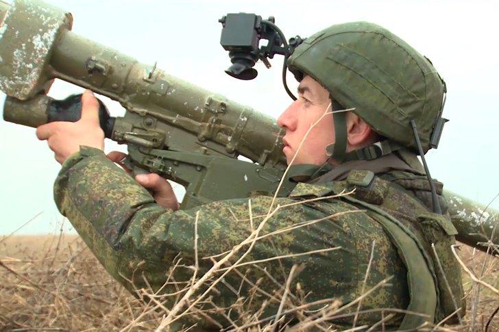 Учения ВДВ в Крыму