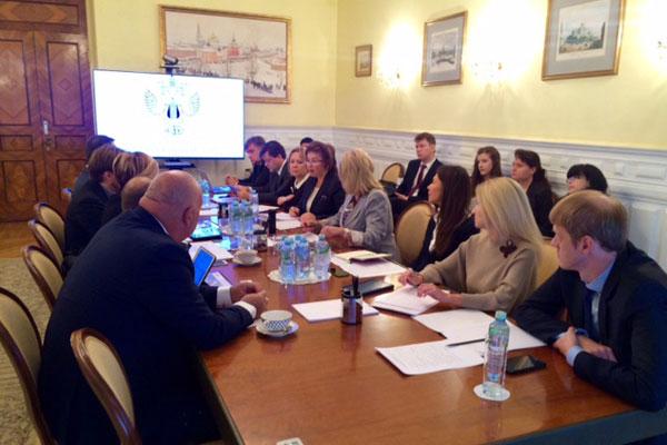 Заседание рабочей группы по культуре и туризму в рамках Российско-Итальянского совета.