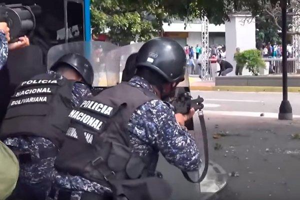 Волнения в Венесуэле