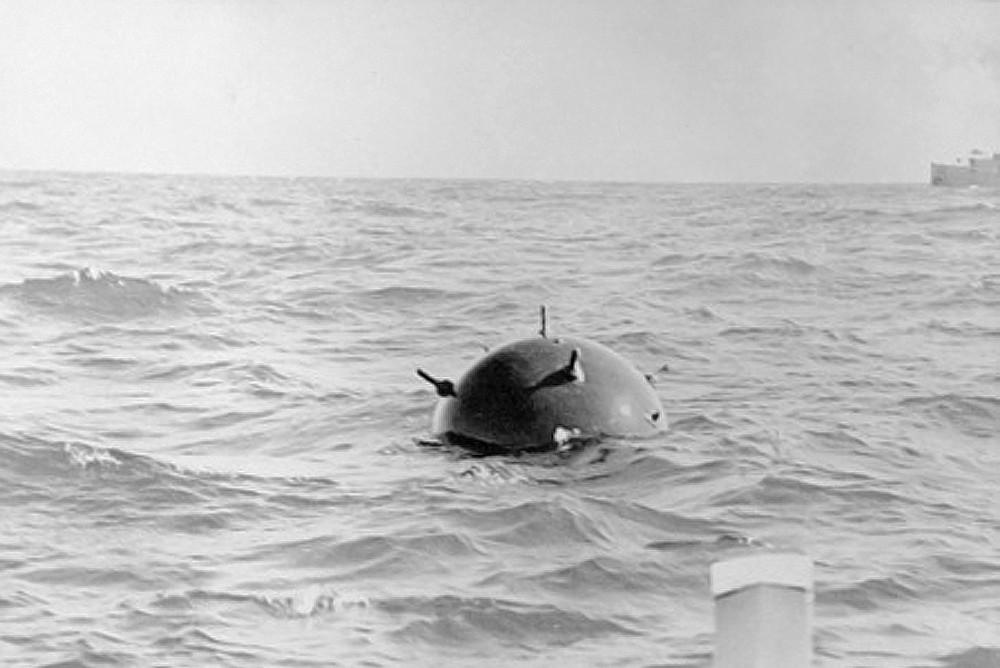 Немецкая контактная мина в австралийских водах в годы Второй Мировой Войны