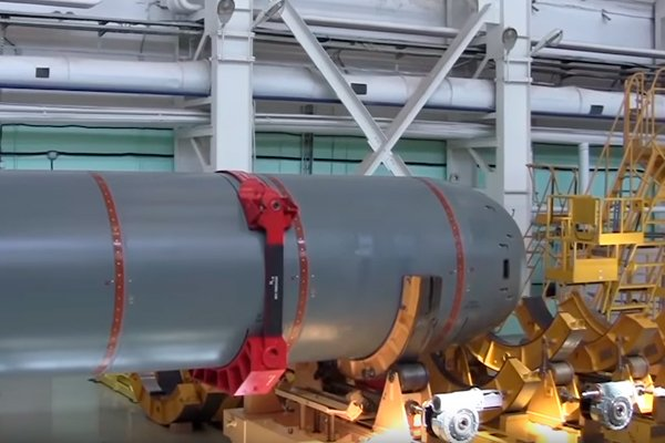 Беспилотный подводный аппарат «Посейдон»