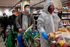 Посетители супермаркета