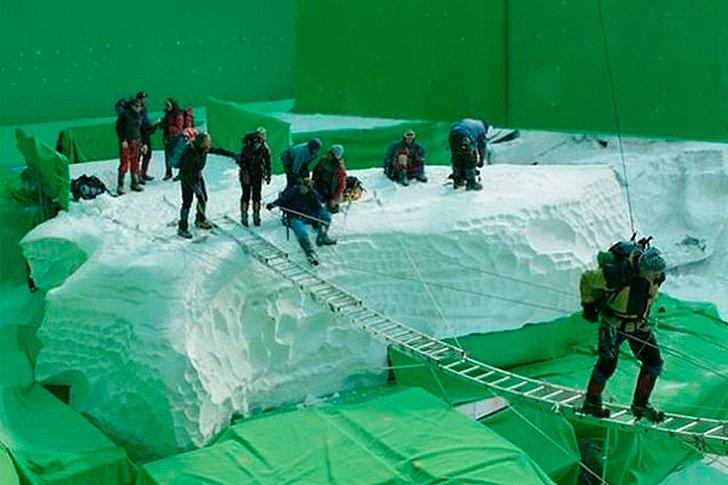 Съемки фильма «Эверест»
