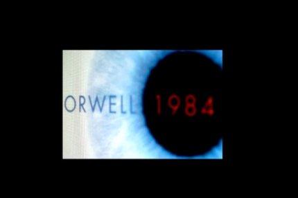 """Обложка книги Оруэлла """"1984""""."""