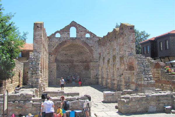 Церковь Святой Софии, конец V — начало VI века, Несебыр. Болгария.
