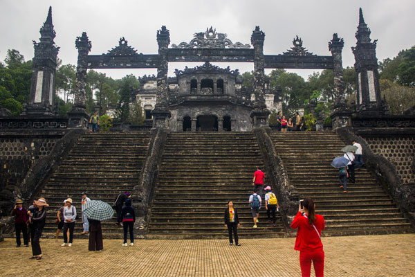 Гробница императора Кхай Диня (Lăng Khải Định). Вьетнам.