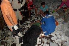 туристка сорвалась со скалы в Геленджике