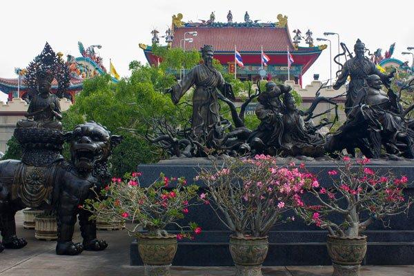 Китайский храм-музей Viharn Sien. Паттайя, Таиланд.