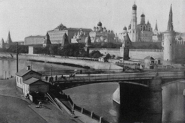 Москворецкий мост (старый), 1902  год