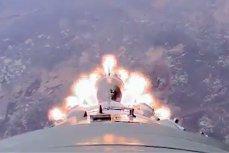 Момент аварии космического корабля «Союза-ФГ»
