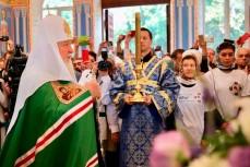 Патриарх Кирилл в Геленджике