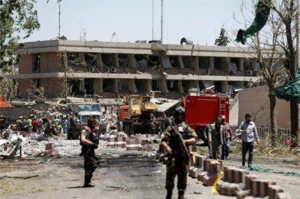 Кабул, взрыв возле немецкого консульства 31.05.2017.