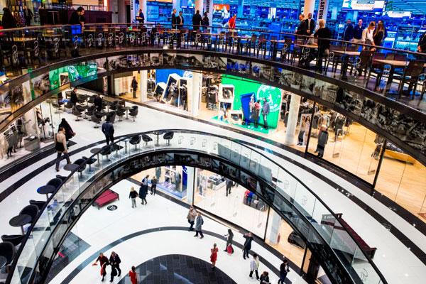 Торговый центр в Берлине.