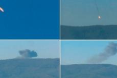 Сбит российский самолёт Су-24.