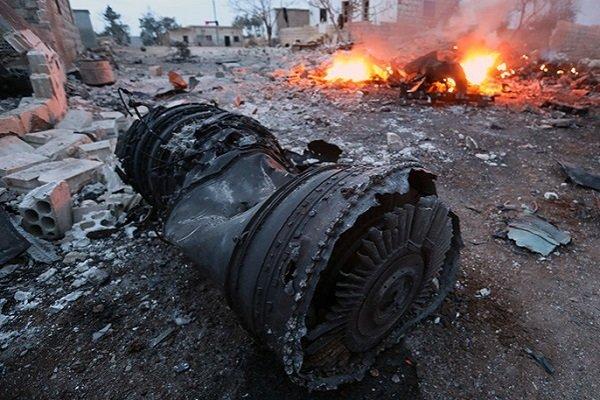 Обломки сбитого Су-25, Сирия