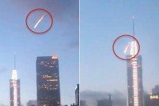 «Человек-метеор» в небе Лос-Анджелеса