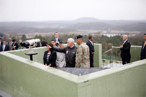 Пенс назвал провокацией пуск ракеты Северной Кореей