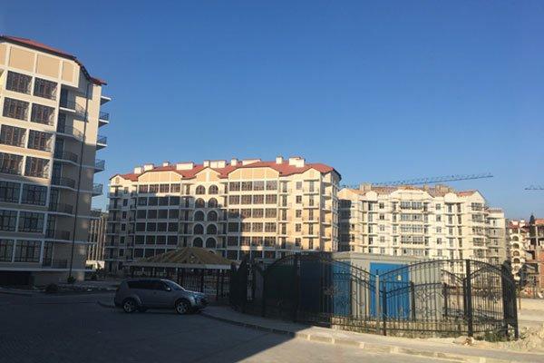 Строительство жилого комплекса «Черноморский-2»