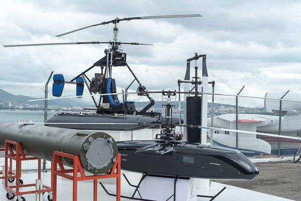 Беспилотный летательный аппарат вертолётного типа и автожир