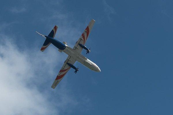 Демонстрационный полёт Ил-114 Радар в небе Геленджика